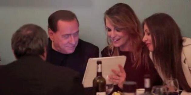 Silvio Berlusconi a cena al ghetto con Francesca Pascale. Incontra Riccardo Pacifici e su Alfano...