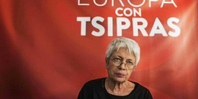 Barbara Spinelli lista Tsipras: