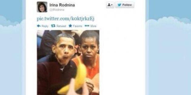 Sochi 2014: la tedofora di Vladimir Putin e il tweet di Obama che mangia le