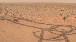 Malizia su Marte. Cosa ha disegnato il rover sul Pianeta Rosso? (FOTO,