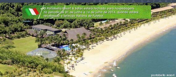 Mondiali 2014, il resort affittato dalla Nazionale italiana: 806 mila euro per 90 stanze al Portobello...