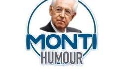 Monti Humour, il professore lancia la campagna simpatia