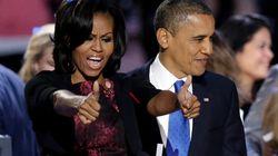 Il look di Michelle Obama promosso dalle firme italiane: stile anni '50 e