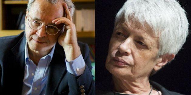 Enrico Mentana difende Barbara Spinelli: