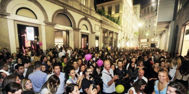 Milan Fashion Week, con la Vogue Fashion's Night Out si inaugura la Settimana della moda