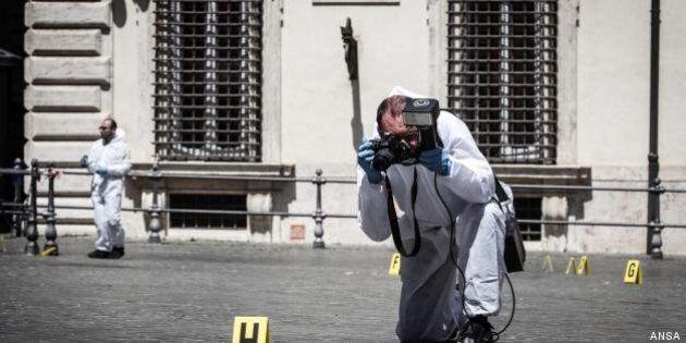 Sparatoria a Palazzo Chigi. Il pdl Gasparri: clima di violenza. Grillo smorza: noi siamo contro la violenza,...