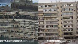 La Concordia come Tiburtina a Roma