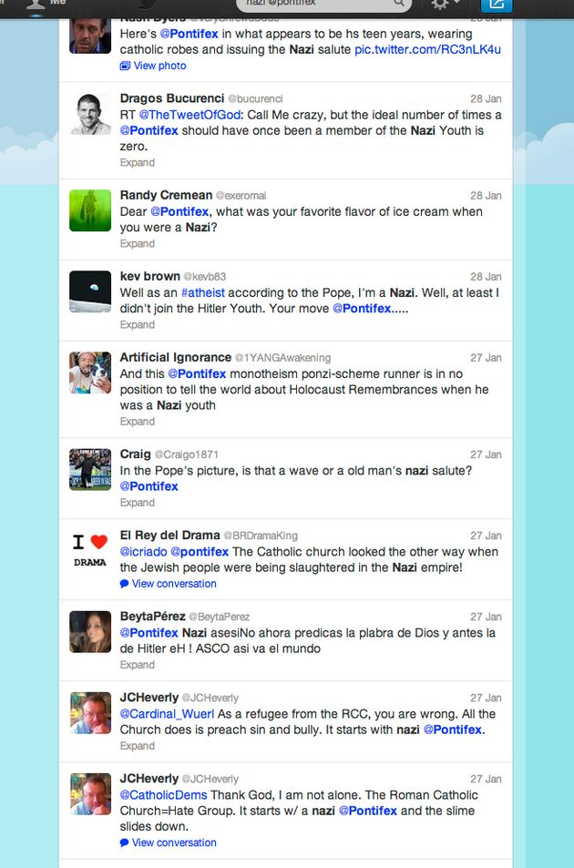 Il Papa su Twitter? Una catastrofe