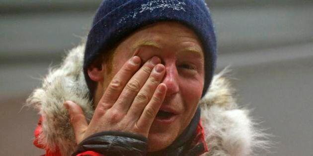 Principe Harry. Passa 20 ore a -35 gradi per prepararsi alla spedizione al Polo Sud