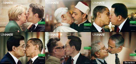 Papa Francesco bacia Shimon Peres come nella campagna della Benetton censurata dal Vaticano