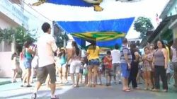 Questo è vero tifo brasiliano (VIDEO,