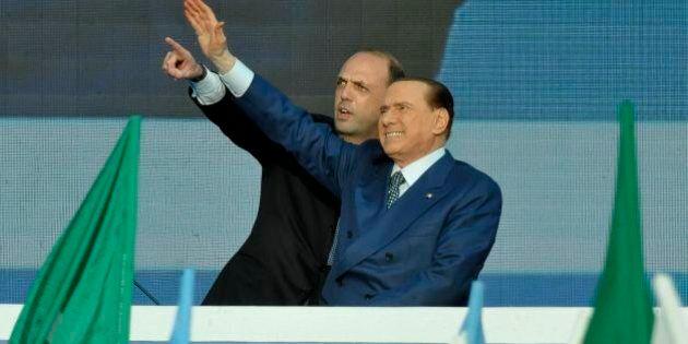 Videomessaggio Silvio Berlusconi, Angelino Alfano:
