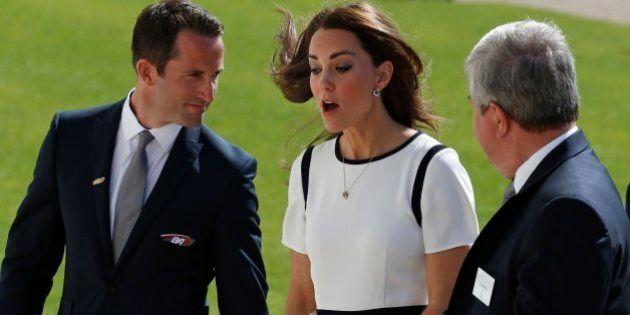 Kate Middleton, look nautico al National Maritime Museum: si prepara la squadra per la Coppa America