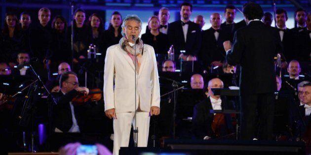 Expo 2015: Bocelli presenta l'inno della manifestazione