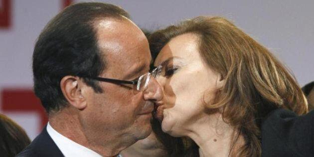 François Hollande da Obama: bruciati gli inviti e i segnaposti con il nome di Valerie Trierwailer
