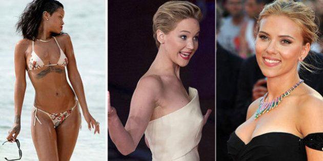 Jennifer Lawrence la donna più bella del mondo secondo i lettori di FHM magazine. Batte Rihanna e Scarlett...