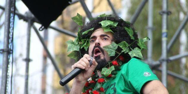 Michele Riondino al concertone di Taranto: