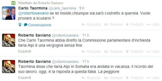 Ilaria Alpi, Carlo Taormina a vent'anni dalla morte ribadisce su twitter: