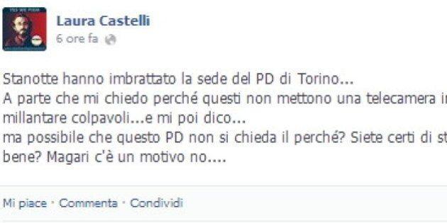 Laura Castelli del M5S su Facebook: