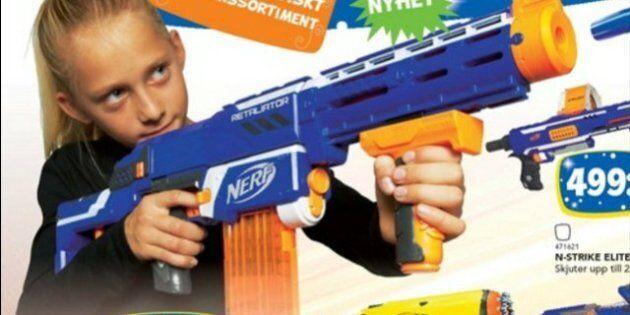 Toys R Us in Svezia elimina il rosa e l'azzurro dal catalogo di Natale. I giocattoli sono neutri