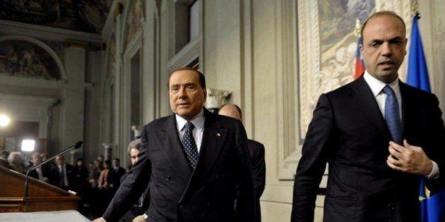 Sondaggi Ispo: Pd e Pdl alla pari e Angelino Alfano supera Silvio Berlusconi nei consensi per la