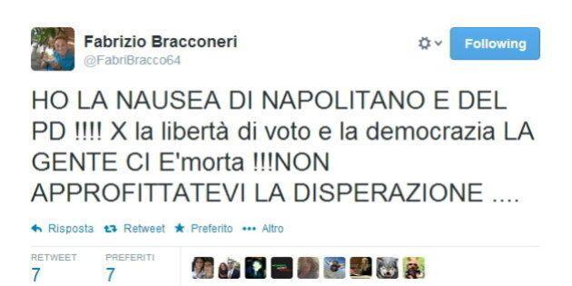 Fabrizio Bracconeri con Fratelli d'Italia alle Europee? Sui social si scatena l'ironia: