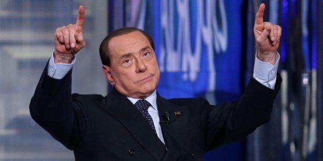 Silvio Berlusconi ospite di Virus: