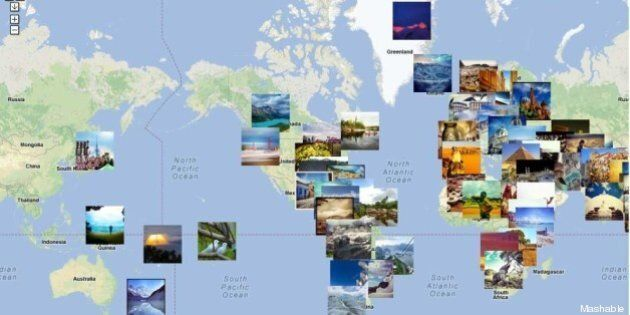 Il giro del mondo in 80 foto: la Terra è navigabile attraverso Instagram (MAPPA,