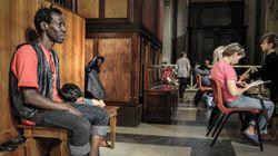 Gli sfrattati che vivono nella Basilica di Santa Maria Maggiore