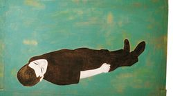 In mostra ad Algeri i personaggi a grandezza naturale di Djamel Tatah