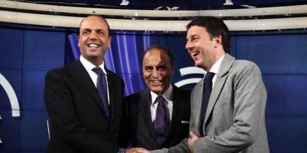 Matteo Renzi, Enrico Letta, Angelino Alfano: la nuova generazione dei leader politici under 50