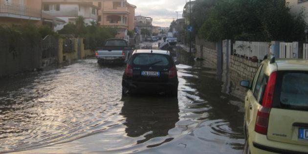 Sardegna ciclone Cleopatra, Briatore offre 14 alloggi ad Arzachena. Crozza annulla la copertina di Ballarò