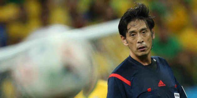 Brasile Croazia 3 -1: l'arbitro Yuichi Nishimura fischia il rigore. La polemica: