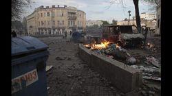 Ucraina, la battaglia contro i separatisti filorussi di Sloviansk (FOTO,