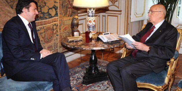 RETROSCENA - La cena fra Napolitano e Renzi, il no alle urne del presidente, i dubbi del segretario sulla
