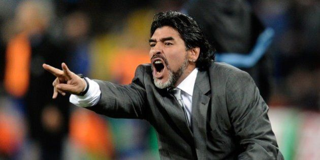 Diego Armando Maradona contesta il Brasile Croazia 3-1: