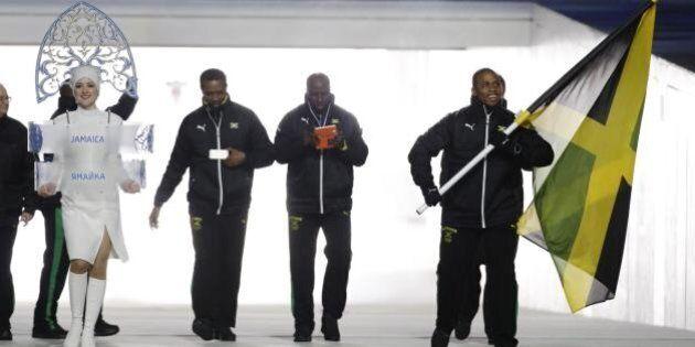 Sochi 2014: accoglienza da star per la nazionale di bob giamaicano. E Usain Bolt ha contribuito alla...