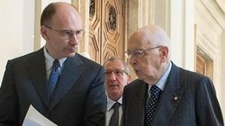 Letta e Napolitano fanno saltare il decreto salva