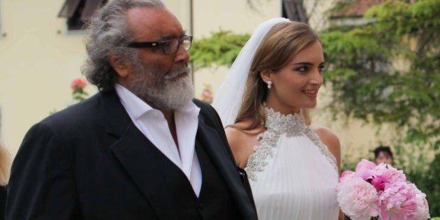 Diego Abatantuono, matrimonio della figlia Marta a Lucca. Parata di vip