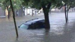 Nubifragio a Roma e centro sud, centinaia di automobilisti bloccati