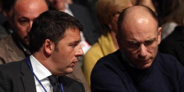 Staffetta Letta - Renzi, incontro rovente a Palazzo Chigi. Ma i mercati