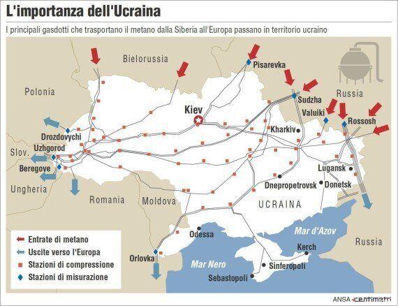 Gas; non c'è accordo fra Russia e Ucraina, Mosca passa al regime del pagamento anticipato. A rischio...