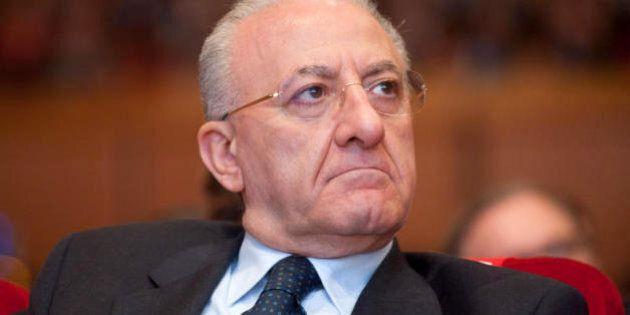 Vincenzo De Luca indagato dopo il sequestro del cantiere del