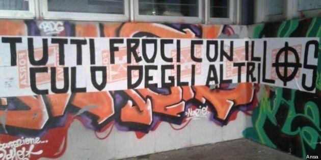 Omofobia a Roma: scritte al Liceo Socrate: