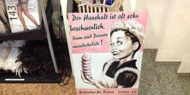 Elezioni Germania 2013: al sexy shop InsideHer dell'italiana Sandra votano SPD.