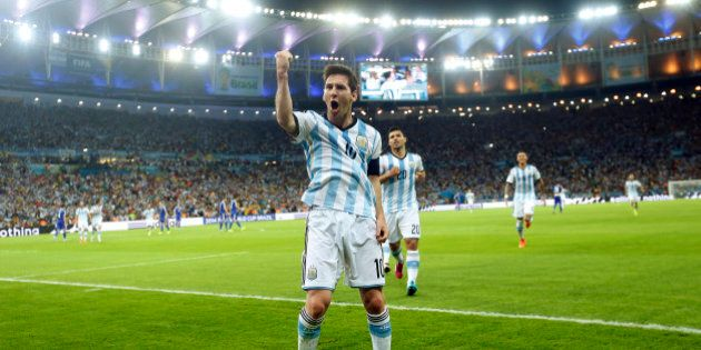 Lionel Messi gol contro Bosnia Mondiali 2014: le immagini della magia della
