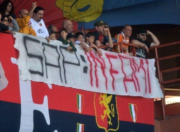 Caso Aldrovandi, i tifosi del Milan contro il sindacato di polizia Sap: