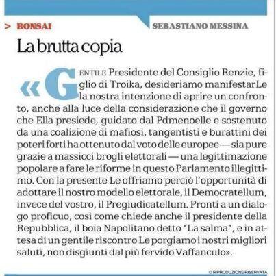 Né con Renzi, né con Orfini: perché vanno viste le carte di