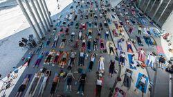 Yoga+Arte al Maxxi. Il Museo d'Arte Contemporanea si apre a yogi e