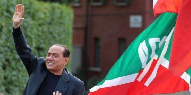 Silvio Berlusconi inaugura la nuova sede di Forza Italia (DIRETTA TV